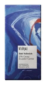 Choklad Ljus Ecuador 37% - Vivani
