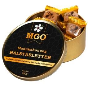 Manukahonung Halstabletter 100G