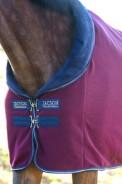 Josie Burgundy - tjockt härligt fleecetäcke