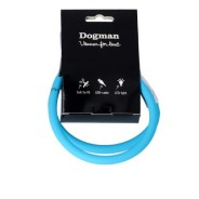 LED-ring silicon - Blinkhalsband Turkos