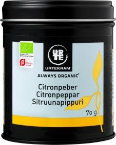 Citronpeppar 70g eko - Urtekram