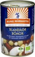 Blandade Bönor/Burk Eko 400g - Kung Markatta