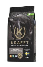 Krafft Performance Low Starch Müsli 20kg - Skickas ej, endast avhämtning