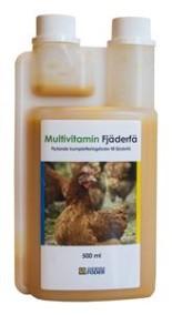 Multivitamin Fjäderfä, 500 ml