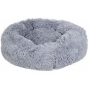 Hundbädd Fluffy Ljusgrå
