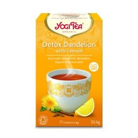 Yogi Tea – Detox Dandelion Lemon EKO 17p