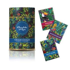 Presentburk med choklad Rich Dark - Chocolate and Love