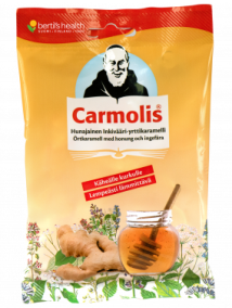 Carmolis Örtkaramell Ingefära/Honung 72 g