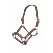Lädergrimma Soft Brun - HKM