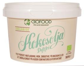 Kokosolja doftfri EKO – Biofood