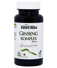 Ginseng Komplex Green Line - Bättre Hälsa