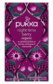 Pukka te - Night Time Berry - NYHET!