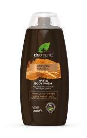 Hår- & Kroppsschampo Ginseng Man - Dr Organic