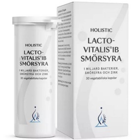 Lactovitalis®IB Smörsyra, 30 kapslar