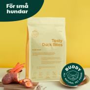 Buddy hundfoder - Tasty Duck Bites / Anka