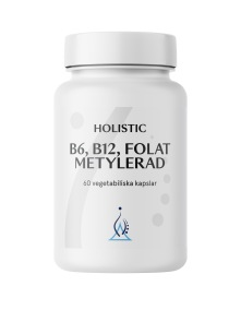 B6, B12, Folat Metylerad - Holistic