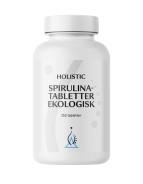 Spirulinatabletter, 250 st ekologiskt - Holistic