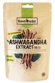Ashwagandha Extrakt (15:1), 70g - Rawpowder