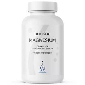 Magnesium 120 mg, 90 kapslar - Holistic