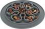 Slow Feed fodermatta, silikon, ø 24 cm