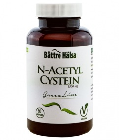 N-Acetyl Cystein - Bättre Hälsa