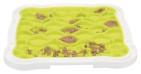 Lick'n'Snack platta, TPR/PP, 20 × 20 cm