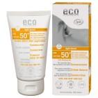 Ekologisk Solkräm extra högt skydd SPF 50+ lätt tonad, 75 ml