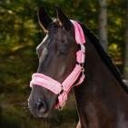 Ponnygrimma med bling och fluff – Rosa