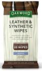 Oakwood Leather & Synth Wipes 20st - Servetter
