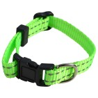 Hundhalsband Puppie Neongrön