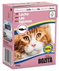 Bozita Katt - Bitar i Sås med Lax 370g