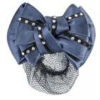 Hårnät med syntetiska diamanter - Marinblå