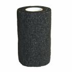 Elastiskt självhäftande bandage 12-pack Svart