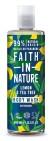 Faith in Nature - Citron & Tea Tree badskum/duschgel  400 ml