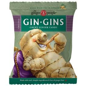 Ingefärskarameller Original - Gin Gins 150g