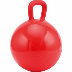Lekboll Horse Guard Röd, 25 cm