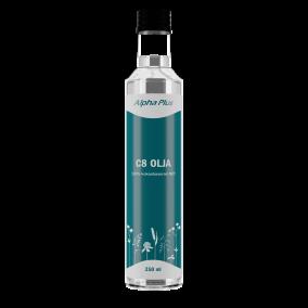 C8 MCT olja 250 ml - Alpha Plus