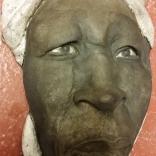Kvinna från Kalahariöknen