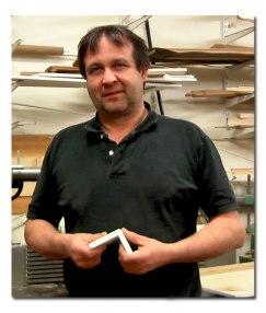 Dathes Specialsnickerier & Inredningar AB jobbar bland annat med kompositmaterial.