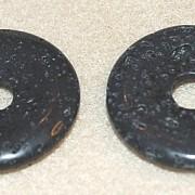 Lava sten donut 30mm