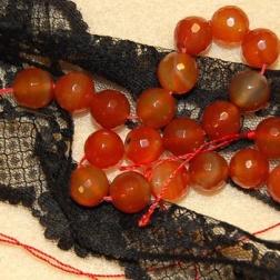 Karneol halsband