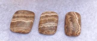 Aragonit polerade stenar