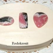 Rodokrosit handpolerade stenar