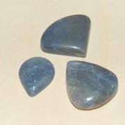 Safir handpolerade stenar