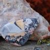 Maligano Jaspis handpolerad sten 44x28mm