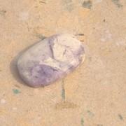 Tiffany sten handpolerad 22x14mm