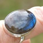 Labradorit ring