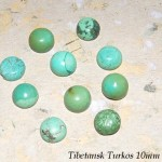 Tibetan Turkos 10mm