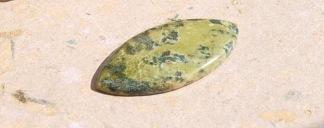 Lizardite polerad sten 41x20mm
