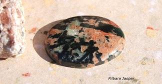 Pilbara Jasper sten 34x27mm cab